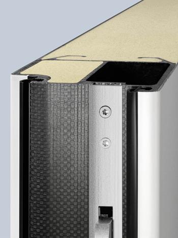 Porte d'entrée aluminium Hörmann - ThermoSafe - ThermoCarbon - isolation thermique inégalée