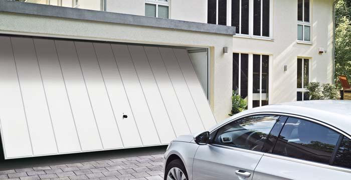 Porte de garage basculante N80 motif 984